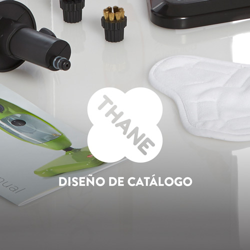Diseño Catálogo Productos Thane Direct UK QVC channel