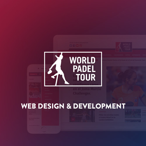 World padel Tour Website Design and Development