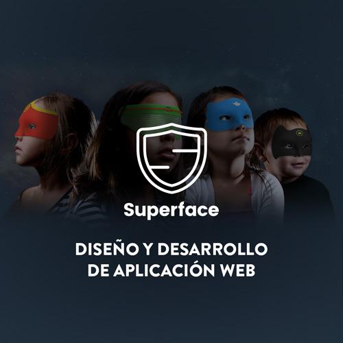 Desarrollo Aplicación Web y Diseño Web Superface