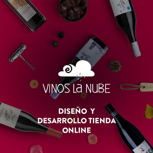 Diseño y desarrollo web vinos lanube