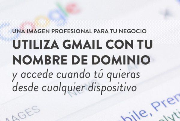 utilizar gmail con nombre de dominio