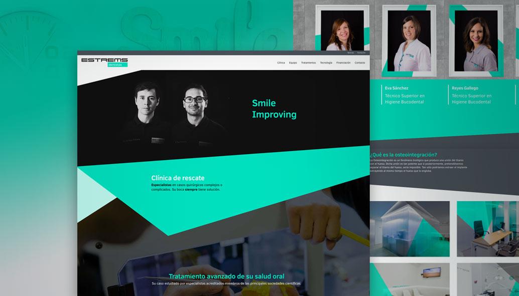 diseño web para clinicas dentales