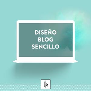 diseño blog sencillo