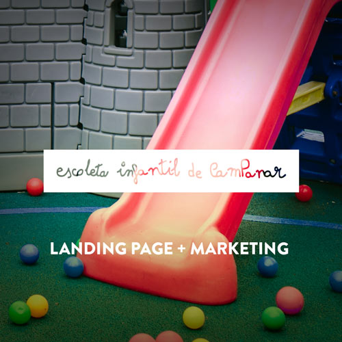 Landing Page y Marketing para Escuela Infantil en Valencia