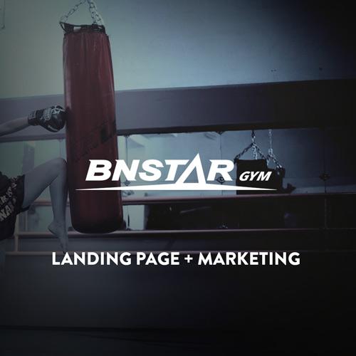 Landing Page para gimnasio