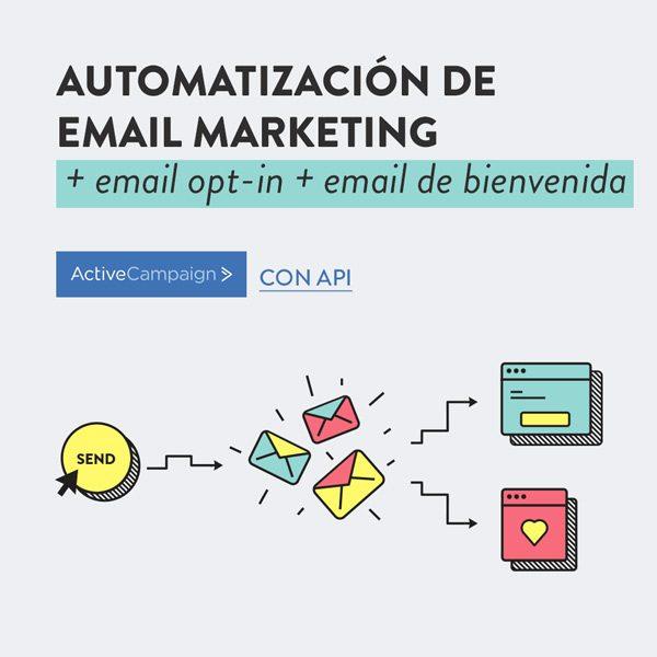 configuración automatismos email