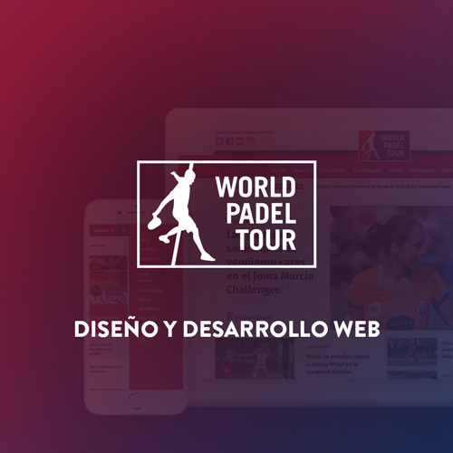 Pagina web world padel tour