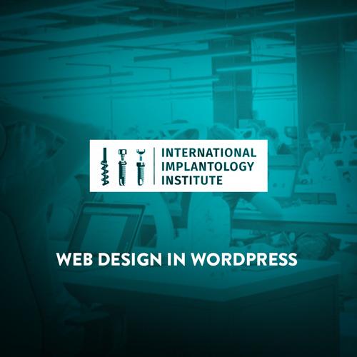 Web design for medicine courses business