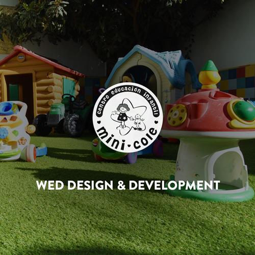 Design and Development for education center Minicole