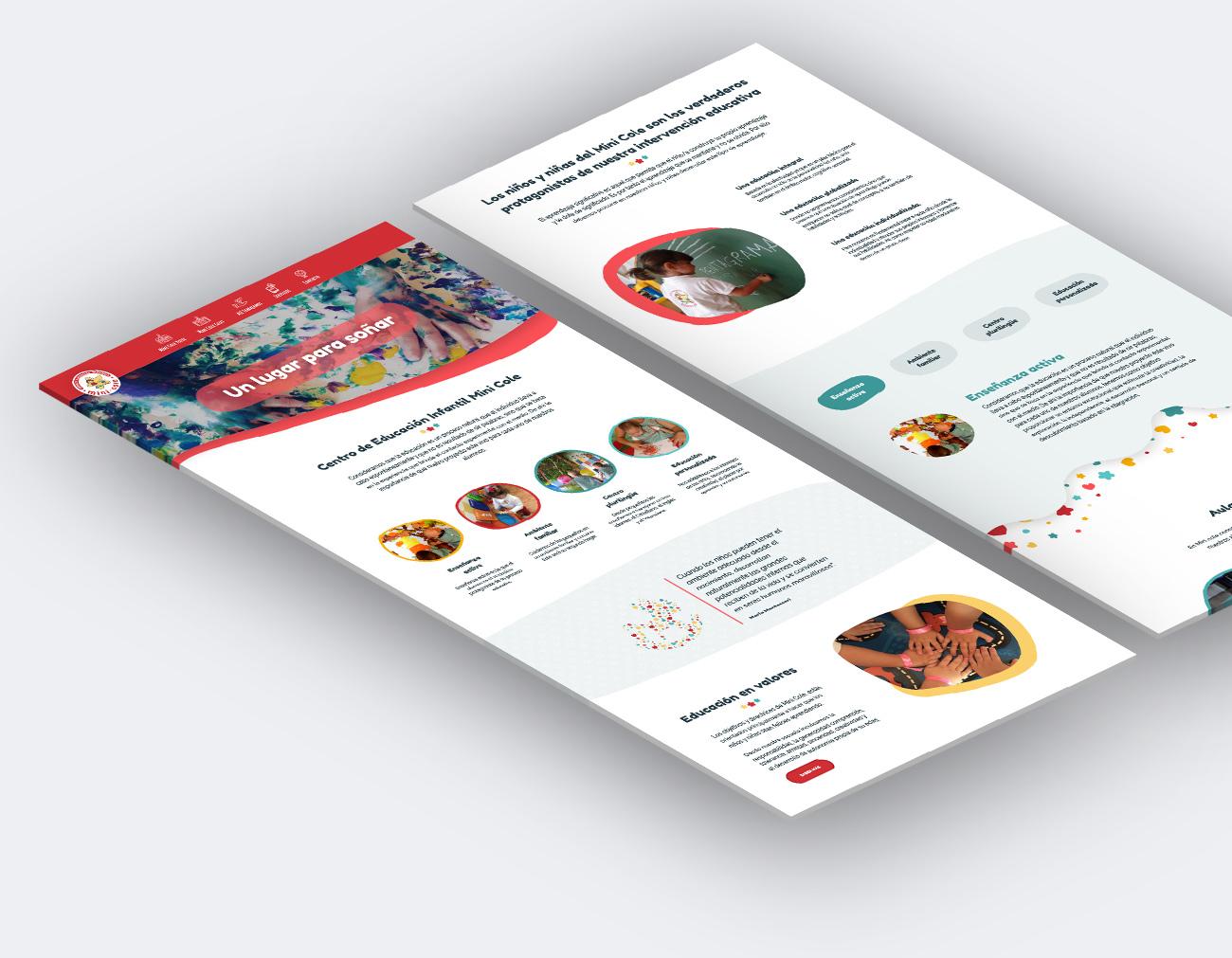 diseño web guarderia