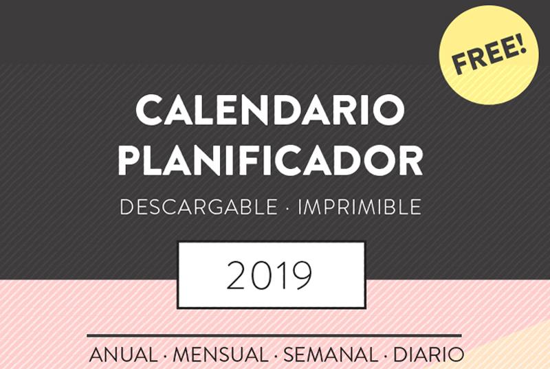 planificador 2019 completo