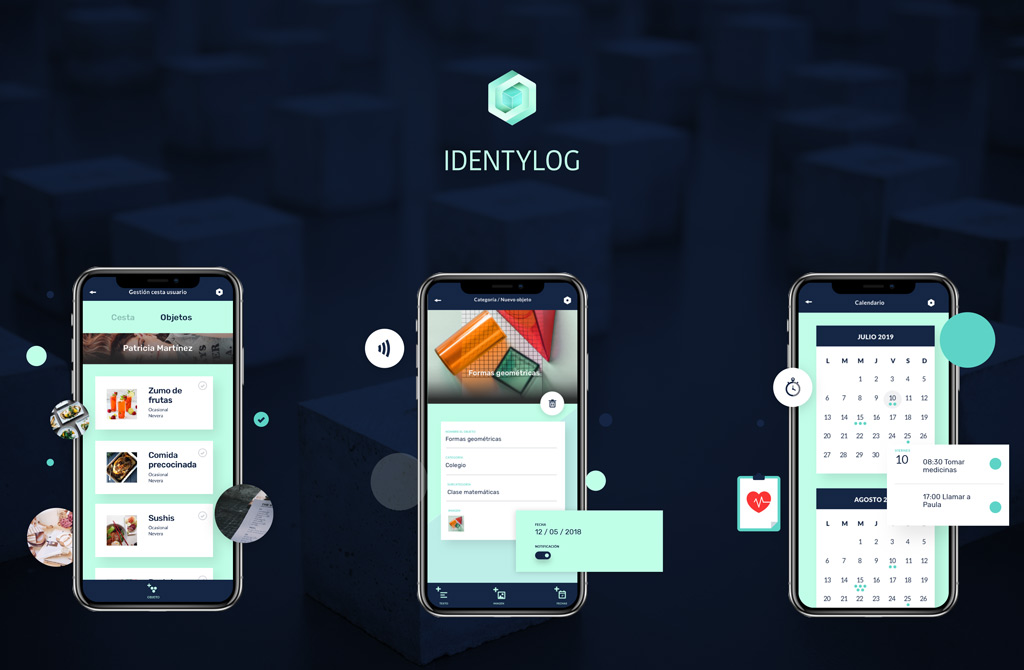 Diseño desarrollo app identylog
